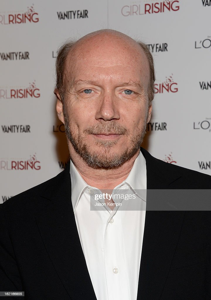 Writer/Director Paul Haggis attends Vanity Fair and L'Oréal Paris-hosted D.J. Night with Freida Pinto in support of 10 x 10 and 'Girl Rising' at Teddy's at The Hollywood Roosevelt Hotel on February 19, 2013 in Los Angeles, California.