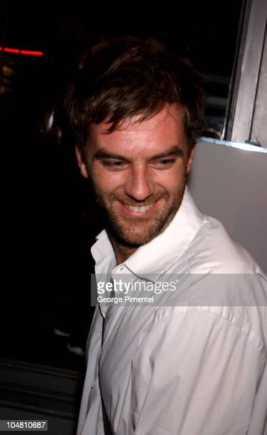 Writer/director Paul Thomas Anderson during 2002 Toronto Film Festival 'PunchDrunk Love' Premiere in Toronto Ontario Canada