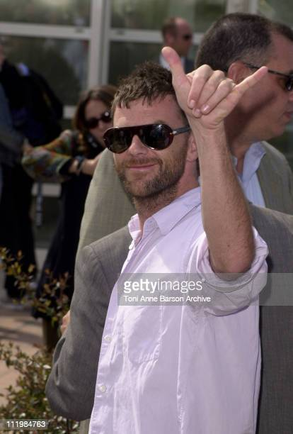 Writer/director Paul Thomas Anderson during Cannes 2002 'PunchDrunk Love' Photo Call at Palais des Festivals in Cannes France