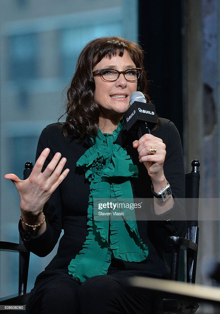 Writer/director Rebecca Miller discusses her new movie ''Maggies Plan' at AOL Build at AOL Studios In New York on May 5, 2016 in New York City.