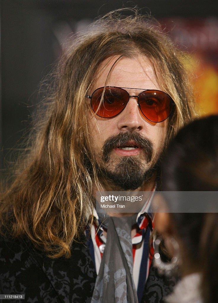 Writer/director Rob Zombie arrives at the 'Halloween' Los Angeles Premiere at Grauman's Chinese Theater on August 23 2007 in Hollywood California