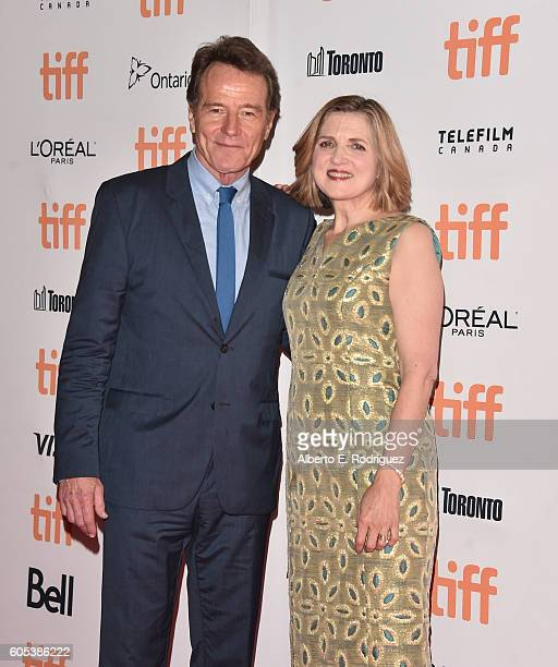 Writer/director Robin Swicord and actor Bryan Cranston attend the 'Wakefield' premiere during the 2016 Toronto International Film Festival at...