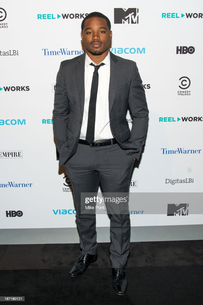 Writer/Director <a gi-track='captionPersonalityLinkClicked' href=/galleries/search?phrase=Ryan+Coogler&family=editorial&specificpeople=7316581 ng-click='$event.stopPropagation()'>Ryan Coogler</a> attends the REEL WORKS 2013 benefit gala at The Edison Ballroom on November 6, 2013 in New York City.