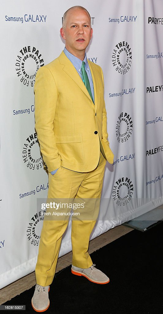 Writer/director Ryan Murphy attends the Inaugural PaleyFest Icon Award on his behalf at The Paley Center for Media on February 27, 2013 in Beverly Hills, California.