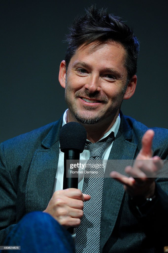 Writer/Director Scott Cooper attends Meet the Filmmakers 'Out Of the Furnace' at the Apple Store Soho on November 19, 2013 in New York City.