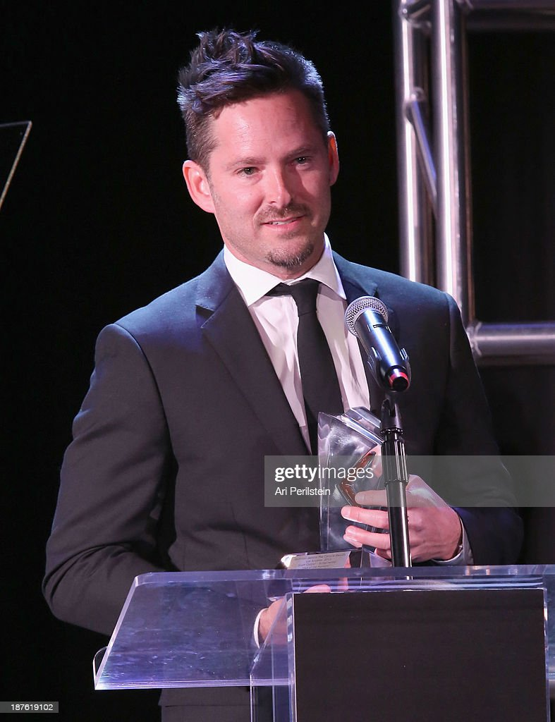 Writer/Director Scott Cooper speaks onstage during the Hamilton and Los Angeles Confidential Magazine's announcement of the 7th Annual Hamilton Behind The Camera Awards at The Wilshire Ebell Theatre on November 10, 2013 in Los Angeles, California.