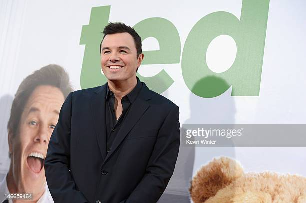 Writer/director Seth MacFarlane arrives at the Premiere of Universal Pictures' 'Ted' sponsored in part by AXE Hair at Grauman's Chinese Theatre on...