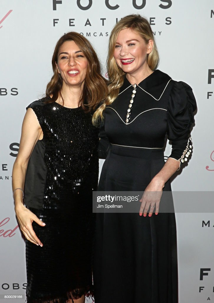 Writer/director Sofia Coppola and actress Kirsten Dunst attend 'The Beguiled' New York premiere at The Metrograph on June 22, 2017 in New York City.