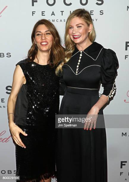 Writer/director Sofia Coppola and actress Kirsten Dunst attend 'The Beguiled' New York premiere at The Metrograph on June 22 2017 in New York City