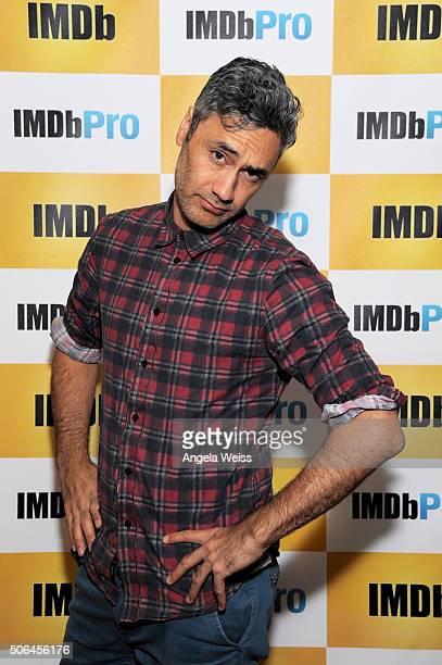 Writer/Director Taika Waititi in The IMDb Studio In Park City Utah Day Two on January 23 2016 in Park City Utah