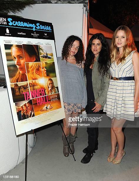 Writer/Director Tatiana von Furstenberg writer/director Francesca Gregorini actress Amy Ferguson attend the Gen Art Screening Of Anchor Bay Films...
