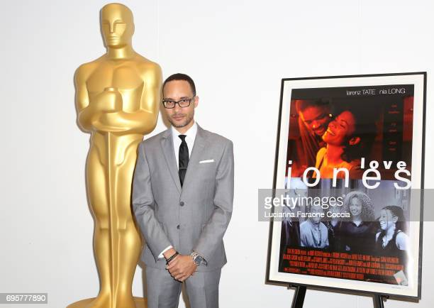Writer/director Theodore Witcher attends The Academy of Motion Picture Arts and Sciences' 20th anniversary celebration of 'Love Jones' at Samuel...