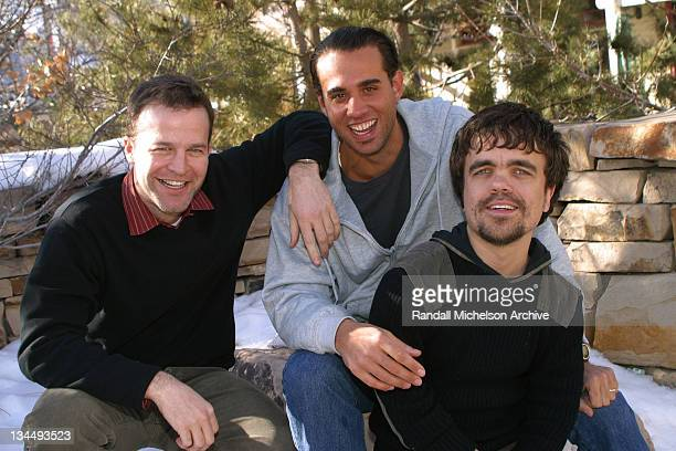Writer/director Thomas McCarthy Bobby Cannavale and Peter Dinklage