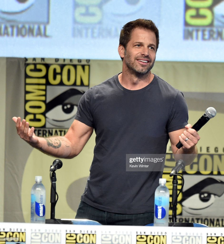 Writer/director Zack Snyder attends the Warner Bros. Pictures panel and presentation during Comic-Con International 2014 at San Diego Convention Center on July 26, 2014 in San Diego, California.