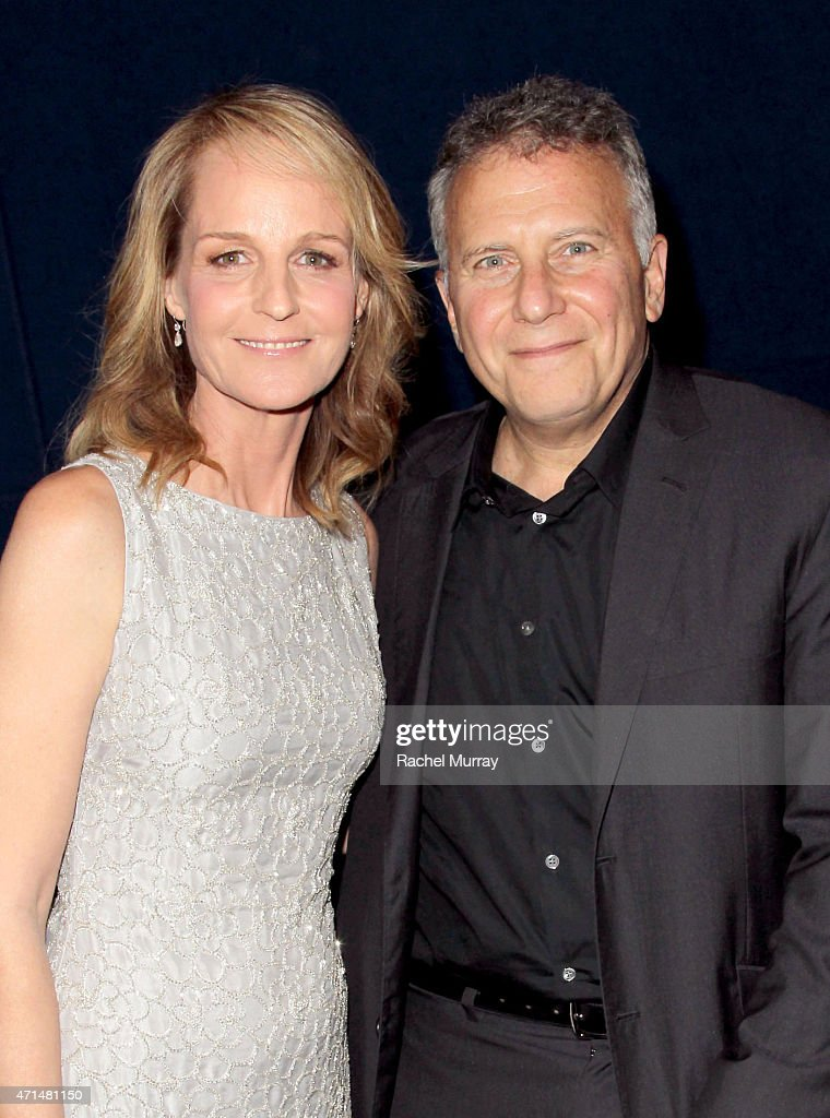 Writer/Director/Actor Helen Hunt and actor Paul Reiser attend the Los Angeles premiere of 'Ride' at ArcLight Cinemas on April 28 2015 in Hollywood...