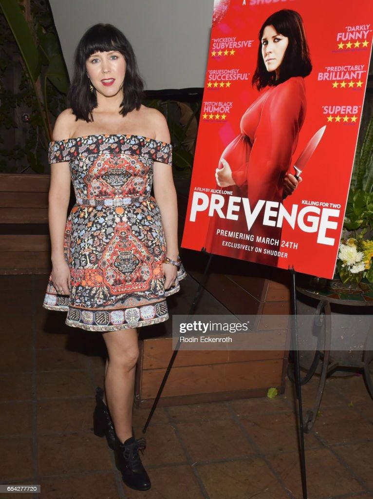 """Screening Of Shudder's """"Prevenge"""""""