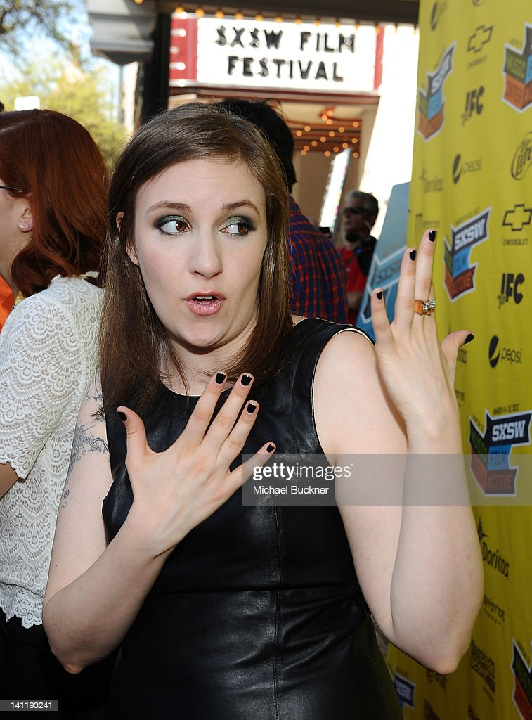 Writer/Director/Actress Lena Dunham arrives to the screening of 'Girls' during the 2012 SXSW Music, Film + Interactive Festival at Paramount Theatre on March 12, 2012 in Austin, Texas.