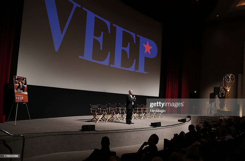 Writer/director/producer Armando Iannucci attends HBO's 'VEEP' screening and panel at the Leonard H. Goldenson Theatre at the Academy of Television Arts & Sciences on June 5, 2013 in North Hollywood, California.