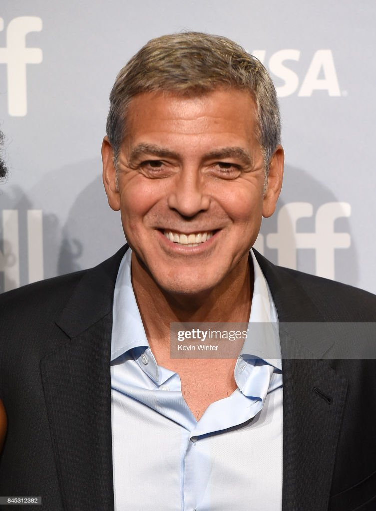 Writer/director/producer George Clooney attends the 'Suburbicon' press conference during the 2017 Toronto International Film Festival at TIFF Bell Lightbox on September 10, 2017 in Toronto, Canada.