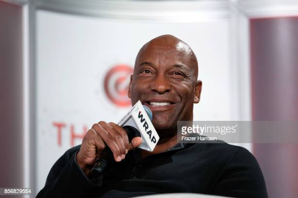 Writer/Director/Producer John Singleton speaks onstage at TheWrap's 8th Annual TheGrill at Montage Beverly Hills on October 2 2017 in Beverly Hills...