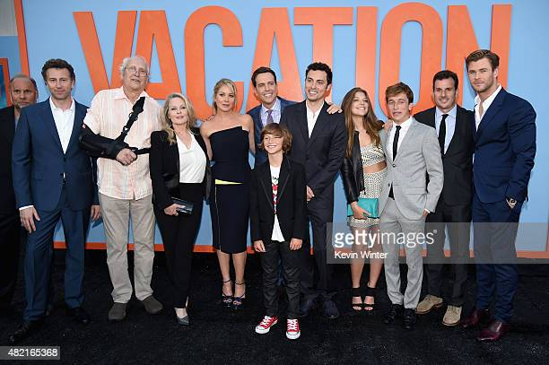 Writer/director/producer Jonathan Goldstein actors Chevy Chase Beverly D'Angelo Christina Applegate Ed Helms Steele Stebbins writer/director/producer...