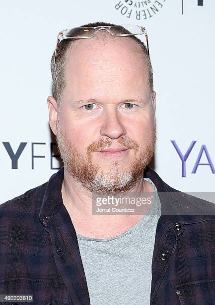 Writer/director/producer Joss Whedon attends the 'Dr Horrible's SingAlong Blog Reunion' during the PaleyFest New York 2015 at The Paley Center for...