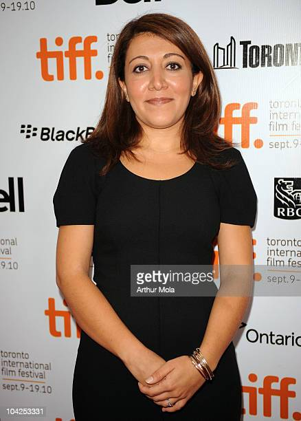 Writer/Director/Producer Massy Tadjedin attends 'Last Night' Premiere during the 35th Toronto International Film Festival at Roy Thomson Hall on...