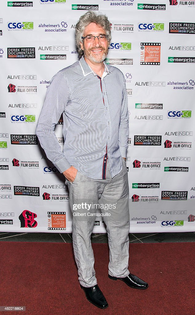 Writer/director/producer Michael Rossato-Bennett attends the 'Alive Inside' screening at Kimmel Center for the Performing Arts on July 15, 2014 in Philadelphia, Pennsylvania.