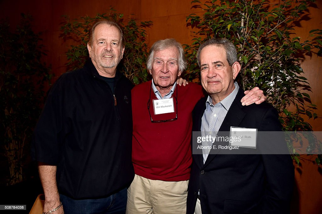 Writer/director/producer Michael Zinberg, director Will Mackenzie and DGA National Executive Director Jay D. Roth attend the 68th Annual Directors Guild Of America Awards Feature Film Symposium at Directors Guild of America on February 6, 2016 in Los Angeles, California.