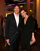 Writer/director/producer Paul WS Anderson and actress Milla Jovovich arrive at the Los Angeles premiere of 'Resident Evil Retribution' at Regal...