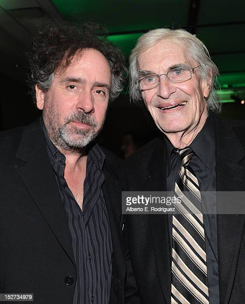 Writer/Director/Producer Tim Burton and actor Martin Landau attend Disney's 'Frankenweenie' premiere after party at the The Annex at Hollywood...