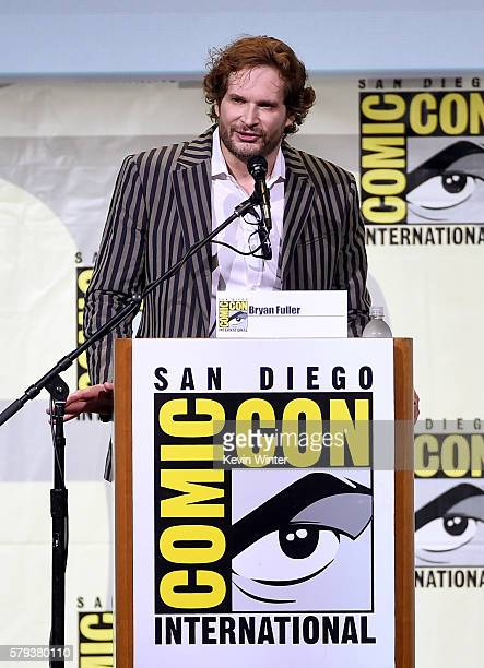 Writer/executive producer Bryan Fuller attends the 'Star Trek' panel during ComicCon International 2016 at San Diego Convention Center on July 23...