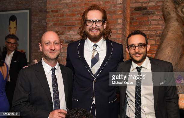 Writer/executive producer Michael Green Writer/executive producer Bryan Fuller and actor Omid Abtahi attend the 'American Gods' premiere after party...