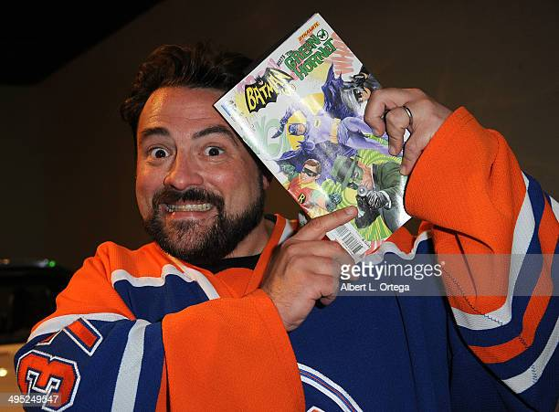 Writer/host Kevin Smith at the 'Batman 66 Meets The Green Hornet' Comic Book Kickoff Fatman On Batman Live Podcast With Kevin Smith And Ralph Garman...