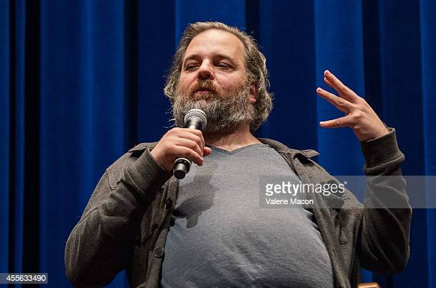 Writer/performer Dan Harmon attends the QA of the screening of 'Harmontown' at The WGA Theater on September 17 2014 in Beverly Hills California
