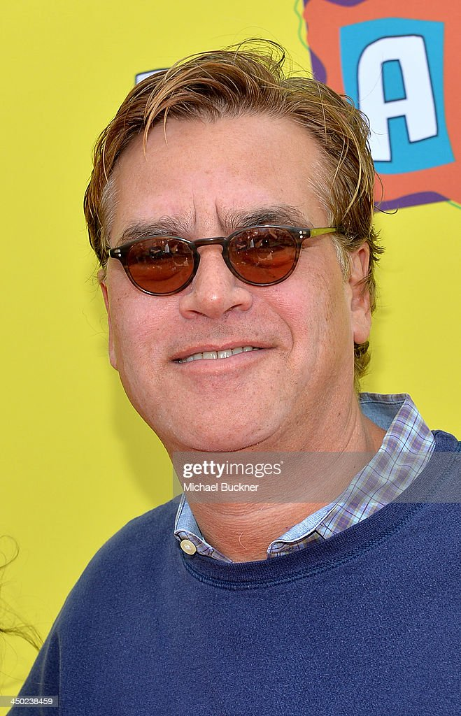 Writer/Producer <a gi-track='captionPersonalityLinkClicked' href=/galleries/search?phrase=Aaron+Sorkin&family=editorial&specificpeople=673535 ng-click='$event.stopPropagation()'>Aaron Sorkin</a> attends the P.S. Arts Express Yourself 2013 event held at Barker Hangar on November 17, 2013 in Santa Monica, California.