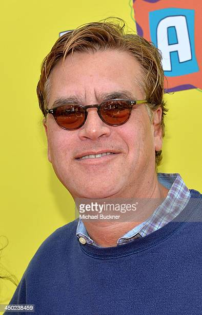 Writer/Producer Aaron Sorkin attends the PS Arts Express Yourself 2013 event held at Barker Hangar on November 17 2013 in Santa Monica California