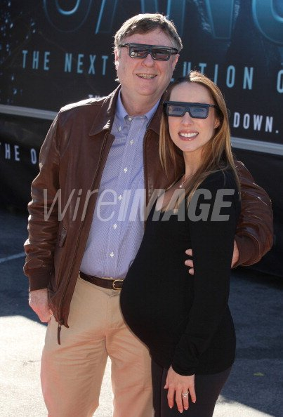 Writer Producer Andrew Wight And His Wife Monica Wight Attend
