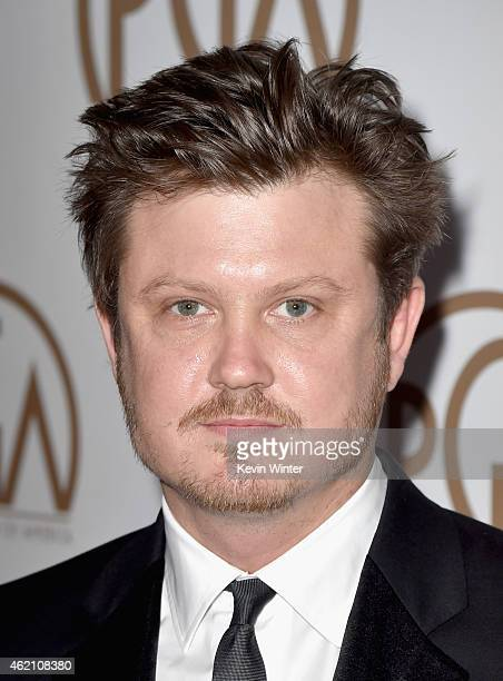 Writer/producer Beau Willimon attends the 26th Annual Producers Guild Of America Awards at the Hyatt Regency Century Plaza on January 24 2015 in Los...