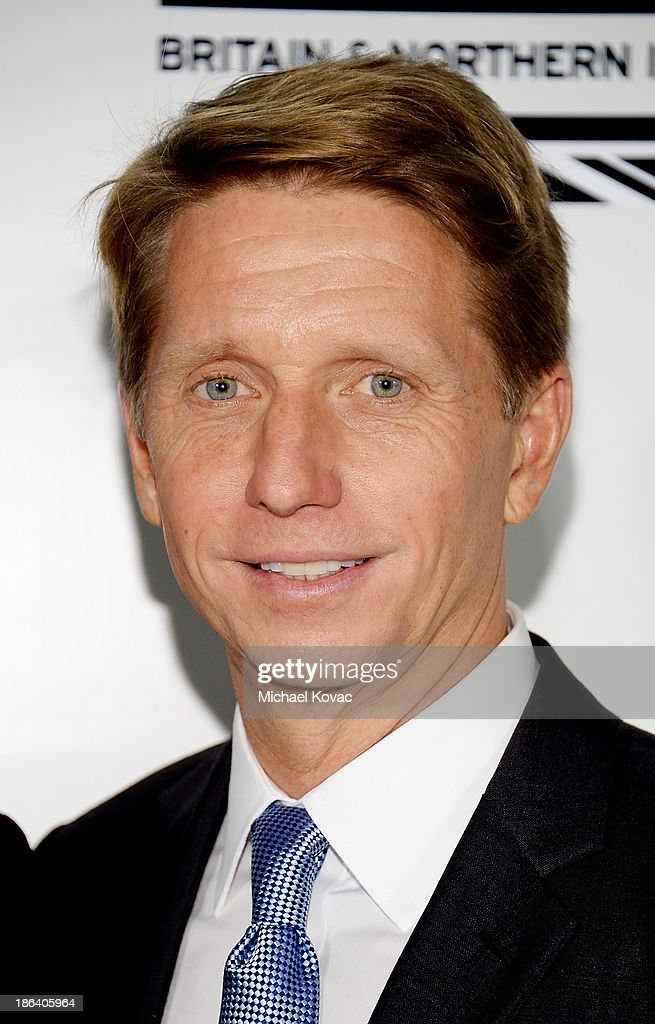 Writer/producer <a gi-track='captionPersonalityLinkClicked' href=/galleries/search?phrase=Bradley+Bell&family=editorial&specificpeople=627792 ng-click='$event.stopPropagation()'>Bradley Bell</a> arrives at the Fourth Annual Autumn Party With Stella McCartney on October 30, 2013 in Los Angeles, California.