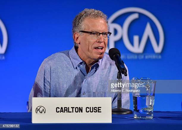 Writer/producer Carlton Cuse speaks at the 7th Annual Produced By Conference at Paramount Studios on May 30 2015 in Hollywood California