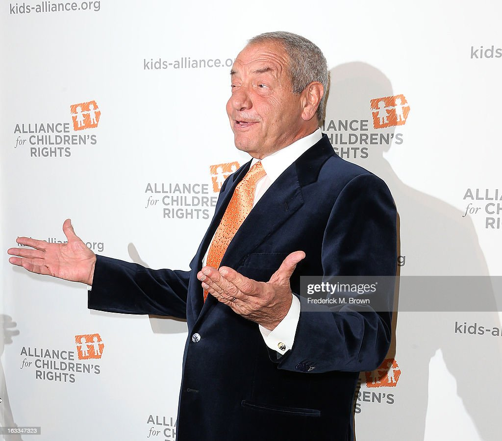 Writer/producer <a gi-track='captionPersonalityLinkClicked' href=/galleries/search?phrase=Dick+Wolf&family=editorial&specificpeople=210651 ng-click='$event.stopPropagation()'>Dick Wolf</a> attends The Alliance For Children's Rights' 21st Annual Dinner at The Beverly Hilton Hotel on March 7, 2013 in Beverly Hills, California.