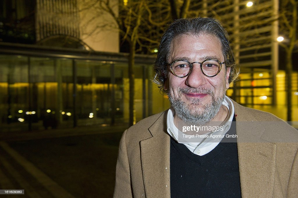 Writer/producer James Manos attends the 'Soiree Francaise Du Cinema' at the French embassy on February 12, 2013 in Berlin, Germany.