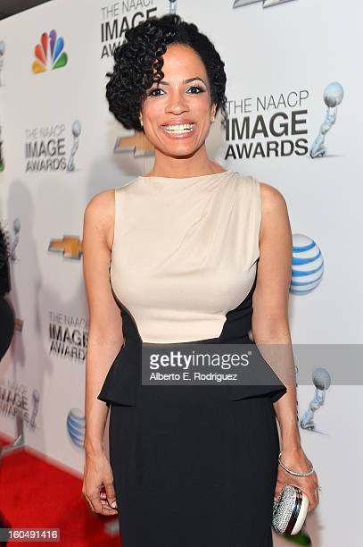 Writer/producer Janine Sherman Barrois attends the 44th NAACP Image Awards at The Shrine Auditorium on February 1 2013 in Los Angeles California