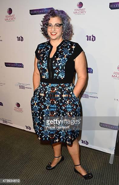 writer/Producer Jenji Kohan arrives The Feminist Majority Foundation's 10th Annual Global Women's Rights Awards with Urban decay Honoering Shonda...