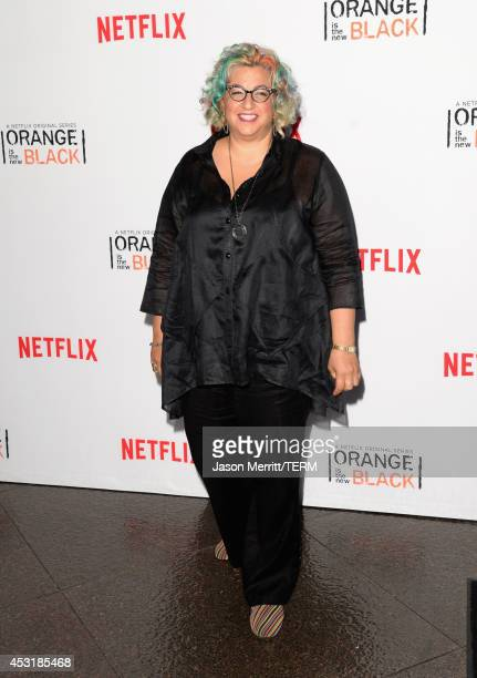 Writer/producer Jenji Kohan attends Netflix's Orange is the New Black panel discussion at Directors Guild Of America on August 4 2014 in Los Angeles...