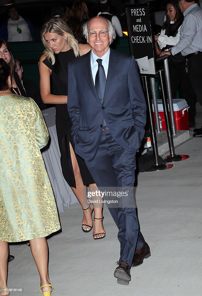 Writer/producer Larry David attends the Los Angeles Philharmonic 2016/17 Opening Night Gala: Gershwin and the Jazz Age at Walt Disney Concert Hall on September 27, 2016 in Los Angeles, California.