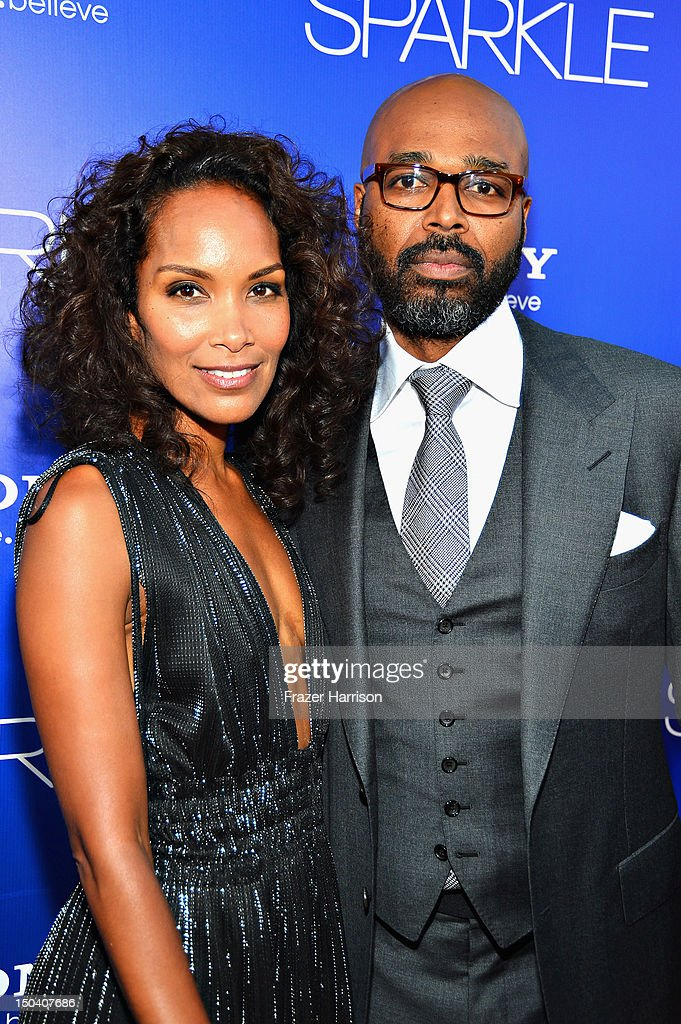 Writer/producer Mara Brock Akil and Director Salim Akil arrives at Tri-Star Pictures' 'Sparkle' premiere at Grauman's Chinese Theatre on August 16, 2012 in Hollywood, California.