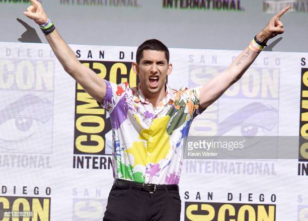 Writer/producer Max Landis at Dirk Gently's Holistic Detective Agency BBC America Official Panel during ComicCon International 2017 at San Diego...