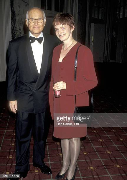 Writer/Producer Norman Lear and Actress Blair Brown attend the People for the American Way's 12th Annual 'Spirit of Liberty' Award Dinner on November...